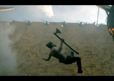 Jon East, Stunt Doubling Clive Standen.